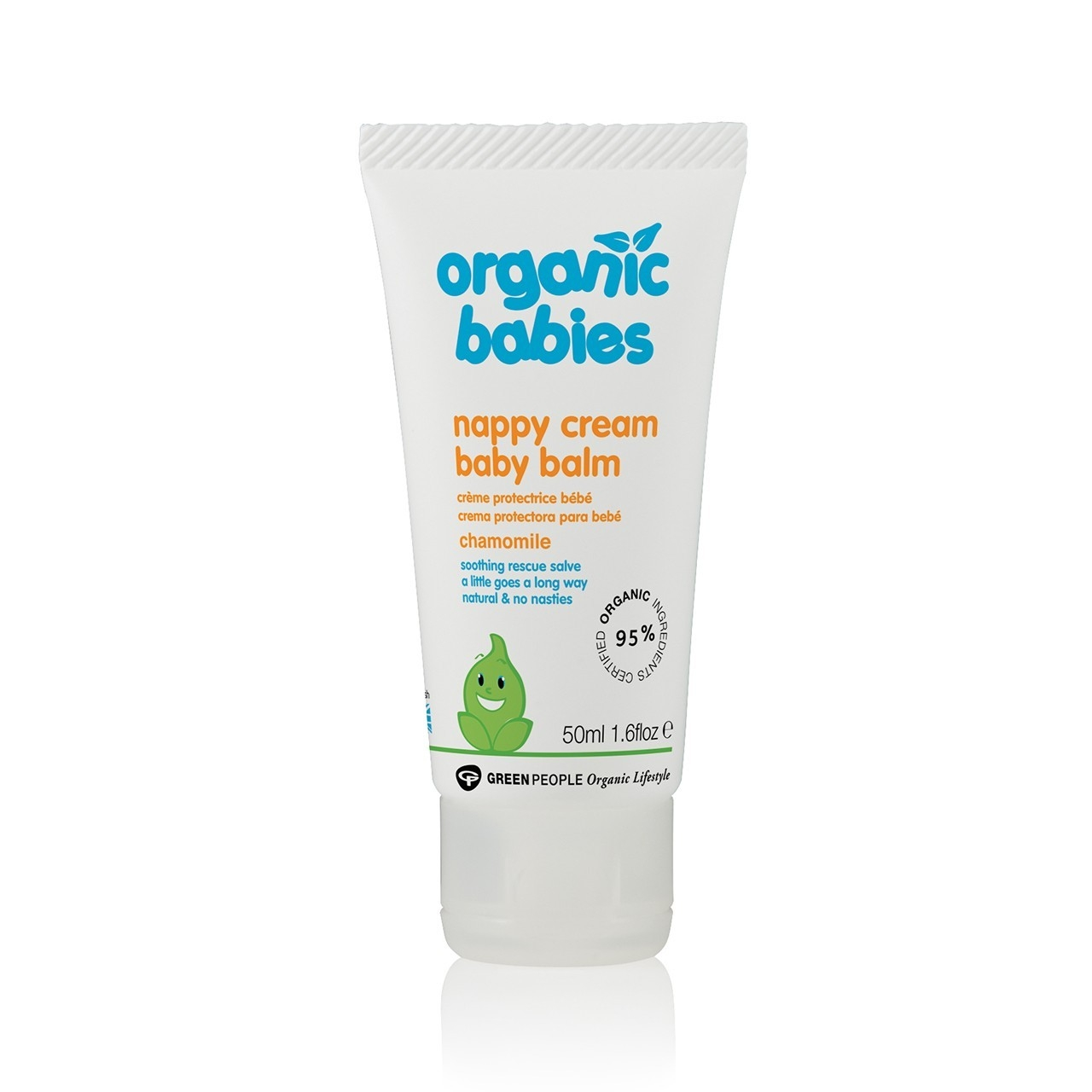 Image of GreenPeople Nappy Cream baby balm chamomille (50 ml)