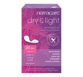Natracare Dry and Light til Inkontinens (20 Stk)