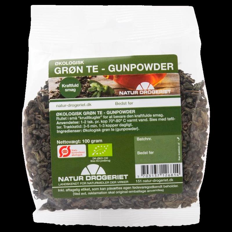 Natur-Drogeriet Grøn Te Gunpowder Ø