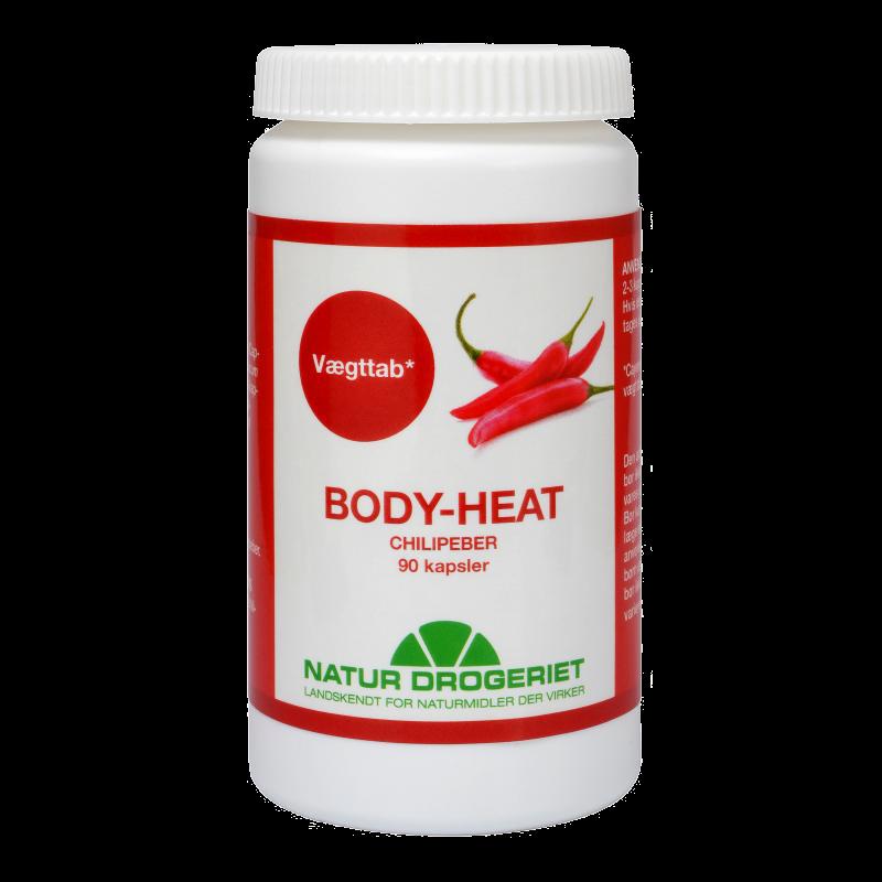 Natur-Drogeriet Body Heat Kapsler Chilipeber