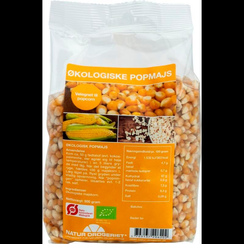 Natur-Drogeriet Popmajs Ø Popcorn