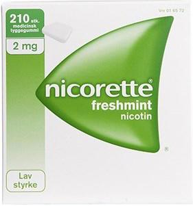 Image of Nicorette Freshmint Tyggegummi 2MG (210 stk)