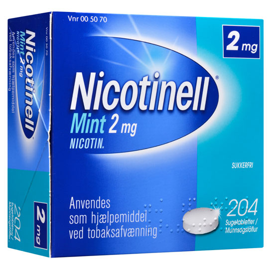 Image of Nicotinell Mint Sugetablet 2MG (204 stk)