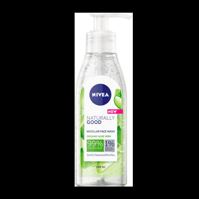 Nivea Naturally Good Cleansing Gel (140 ml)
