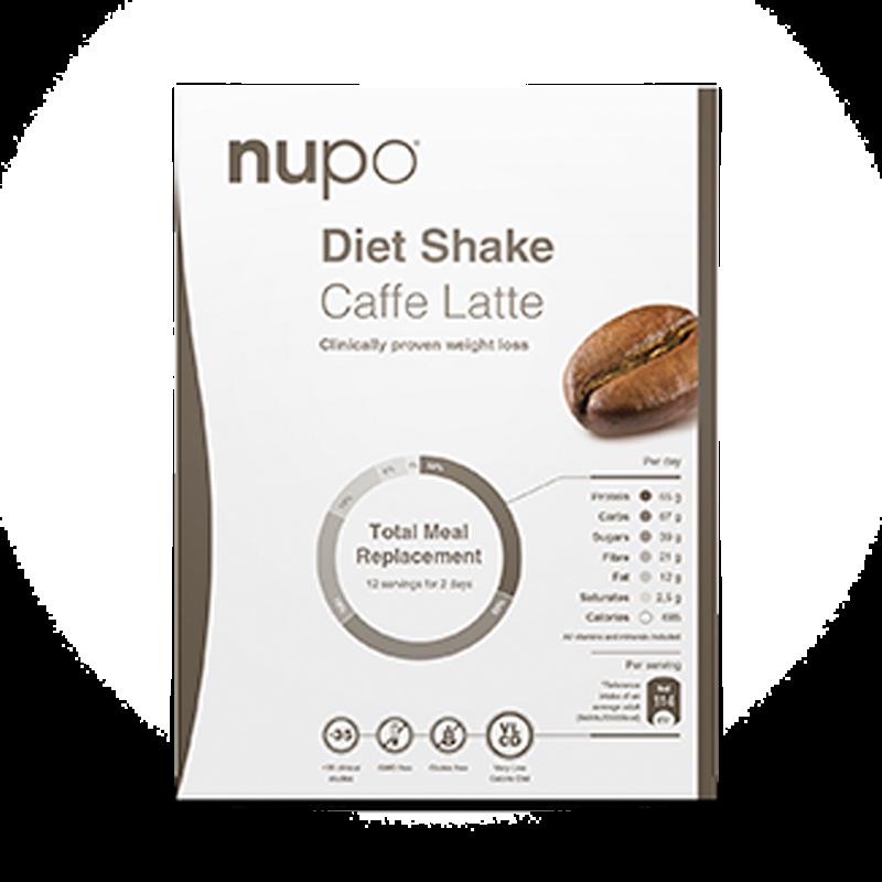 Nupo Diet Shake Caffe Latte (12 br)