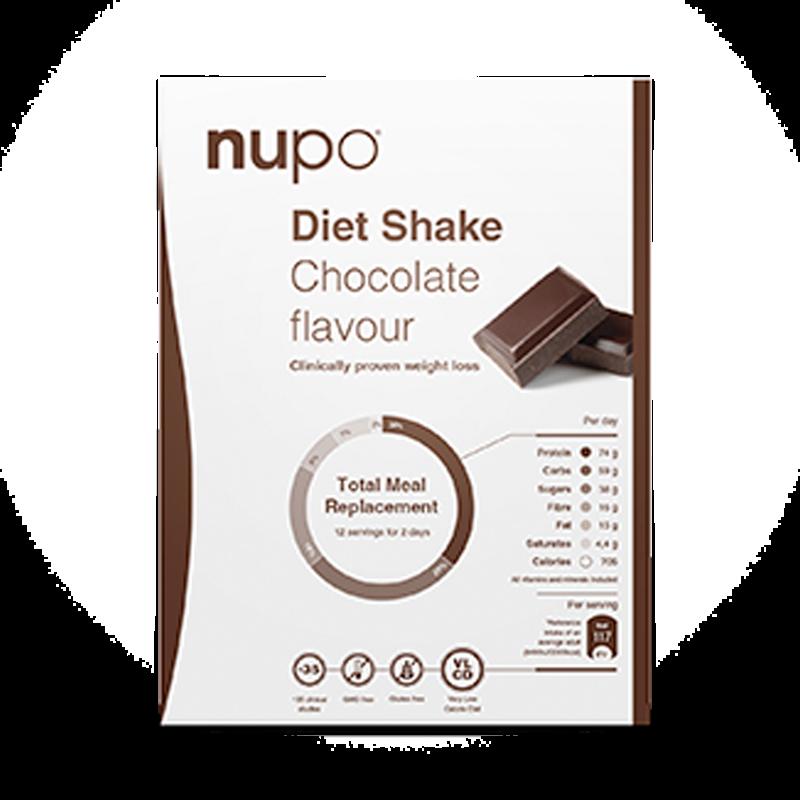 Nupo Diet Shake Chocolate (12 br)