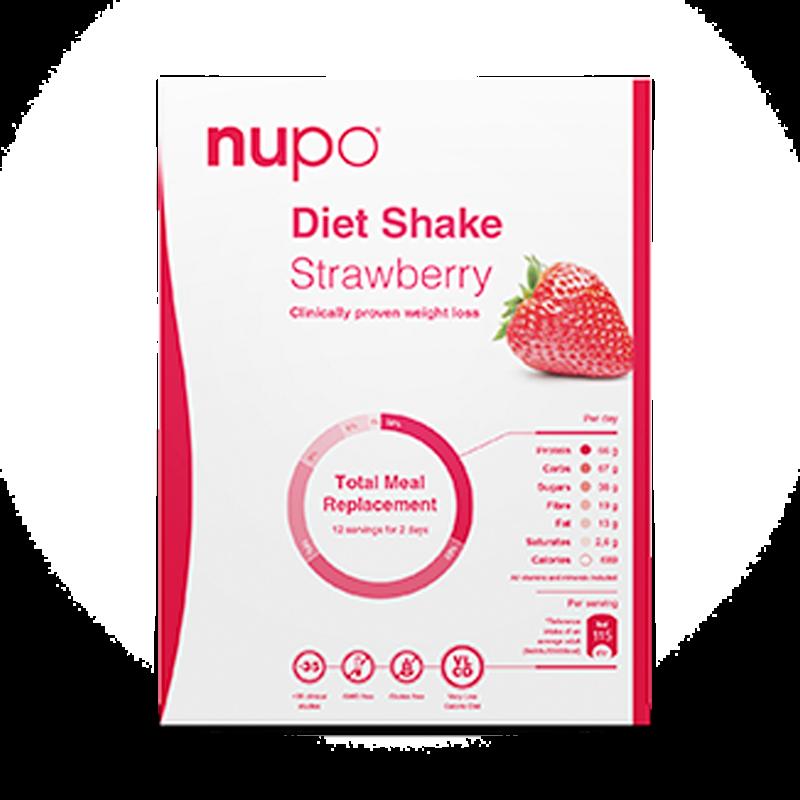 Nupo Diet Shake Strawberry (12 br)