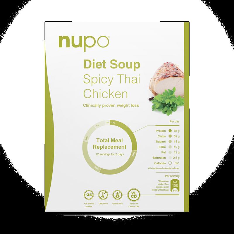 Nupo Diet Soup Spicy Thai Chicken (12 port)