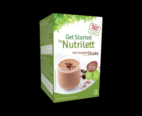 Image of Nutrilett VLCD Chocolate shake (10 pk.)