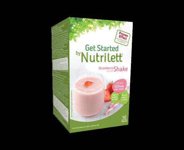 Image of Nutrilett VLCD Strawberry shake (10 pk)