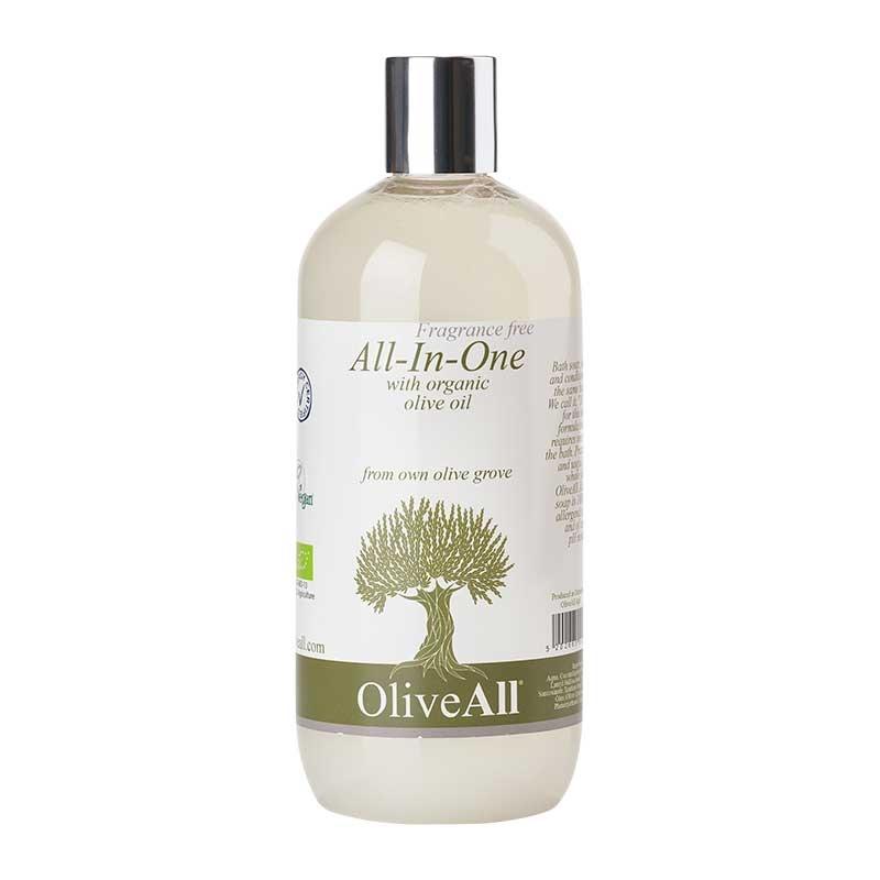 Image of OliveAll Natural Alt I En Sæbe (500 ml)
