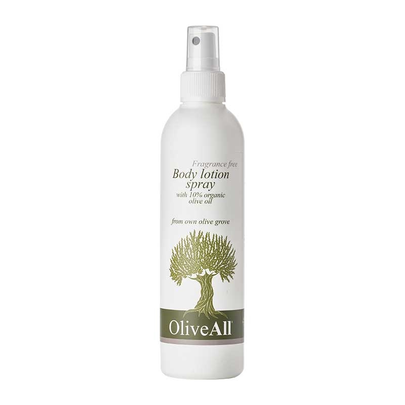 Image of OliveAll Natural Body Lotion Spray (250 ml)