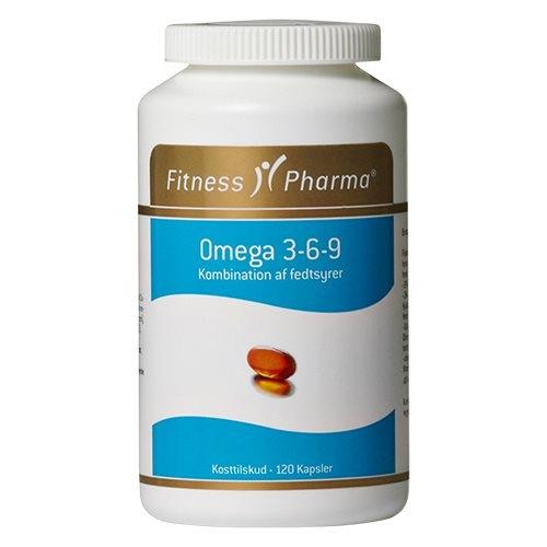 Image of Fitness Pharma Omega 3-6-9 (120 kapsler)