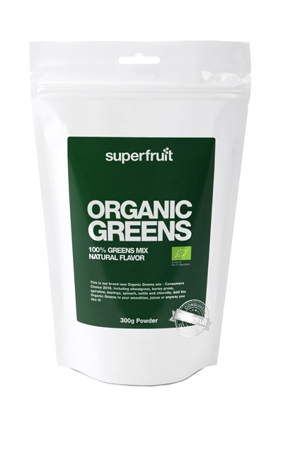 Image of Superfruit Organic greens pulver Ø (300 g)