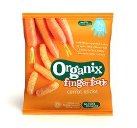 Image of Organix finger foods carrot sticks (20g)