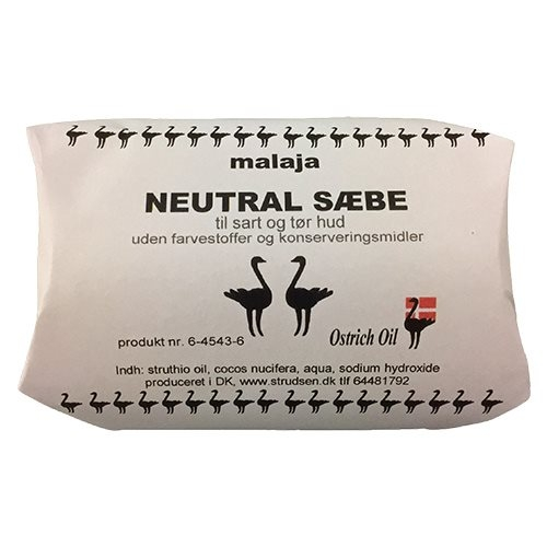 Image of Ostrich Oil Badesæbe Neutral (80 gr)