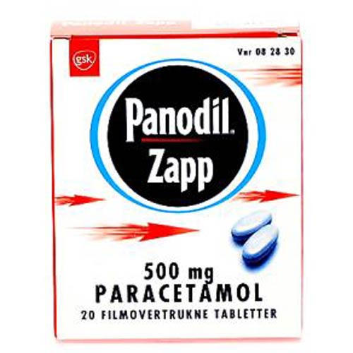 Image of Panodil Zapp Tabletter 500 mg (10 stk)