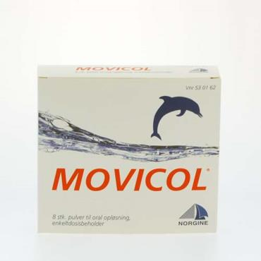 Image of Movicol Pulver Oral Opløsning (8 breve)