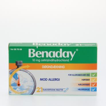 Image of Benaday Tabletter 10 mg (21 stk)