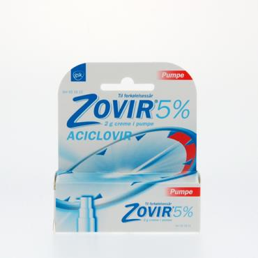 Image of Zovir Creme i Pumpe 50 mg