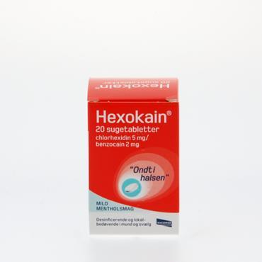Image of Hexokain Sugetabletter (20 stk)