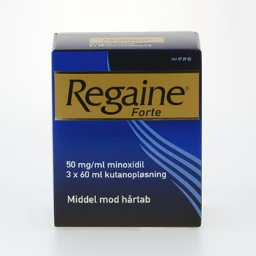 Image of Regaine Forte Kutanopløsning 50 mg (3x60 ml)
