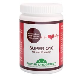 Image of Natur Drogeriet Q10 Super M.Lechitin 100 mg (60 kapsler)