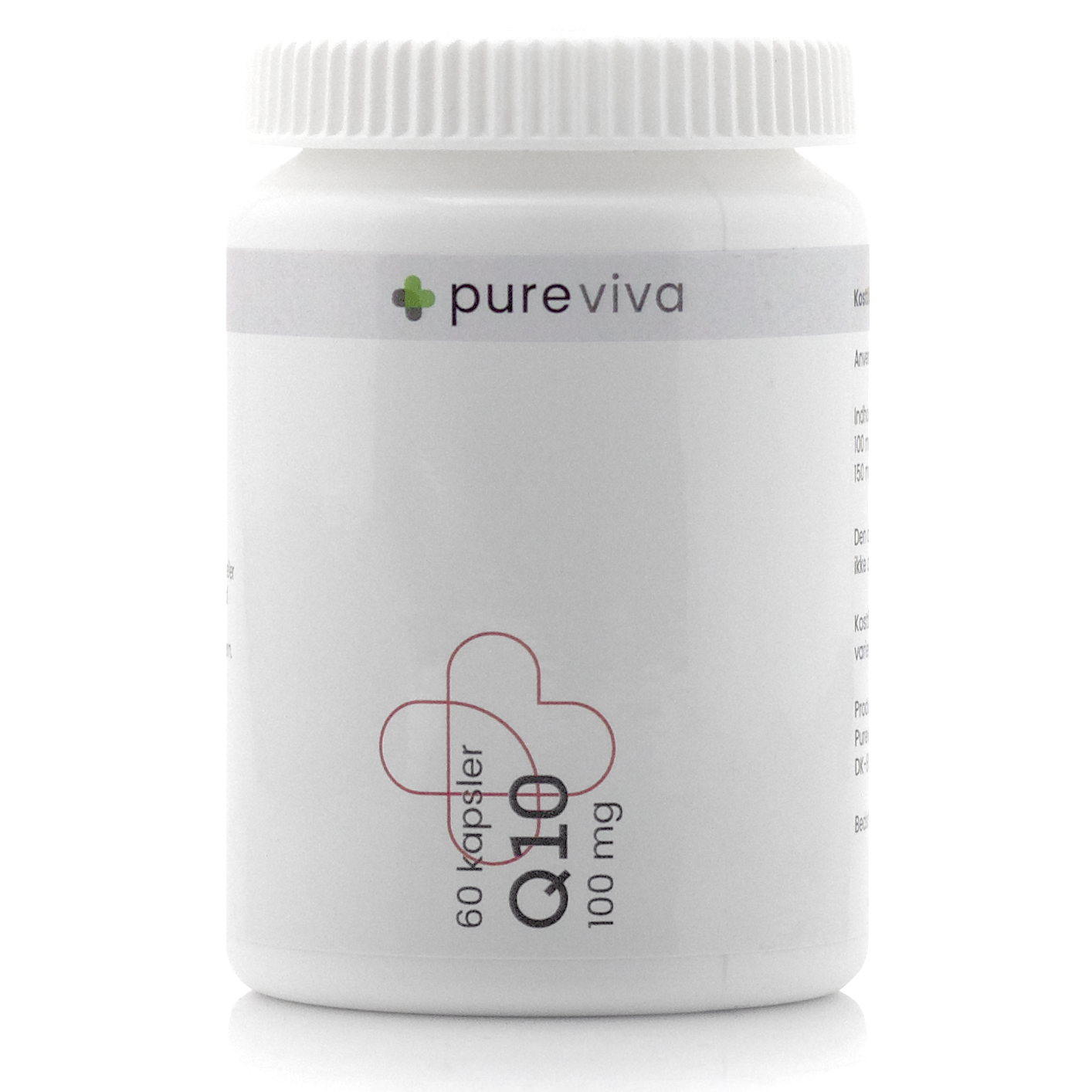 Image of Pureviva Q10 100 mg (60 kap)