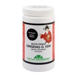 Natur Drogeriet Ægte Panax Ginseng G 1000 - 90 kap.