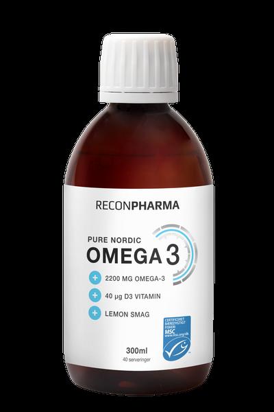 Image of ReconPharma Pure nordic Omega 3 (300ml)