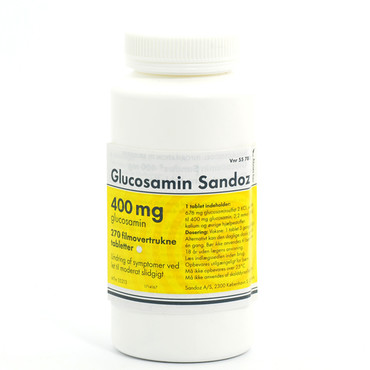Image of Glucosamin Sandoz 400mg (270 stk)
