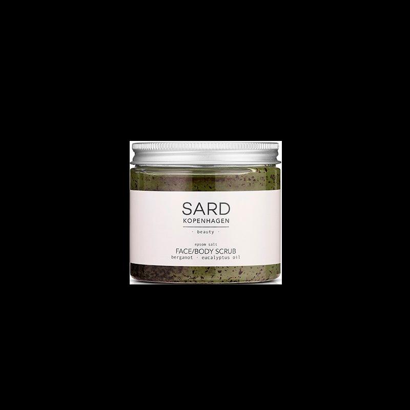 SARDkopenhagen Face Bodyscrub Eucalyptus & Bergamot Oil (200 ml)