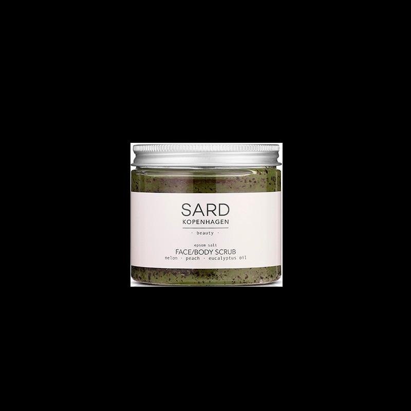 SARDkopenhagen Face Bodyscrub Eucalyptus & Melon (200 ml)
