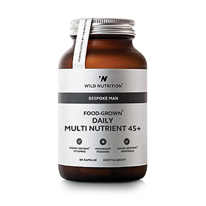 Image of Wild Nutrition Food-Grown Daily Multi Nutrient - Mand 45+ (90 kaps)