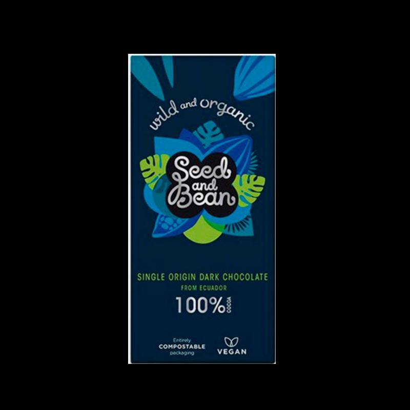 Seed & Bean Mørk Chokolade 100% Ø Wild & Organic