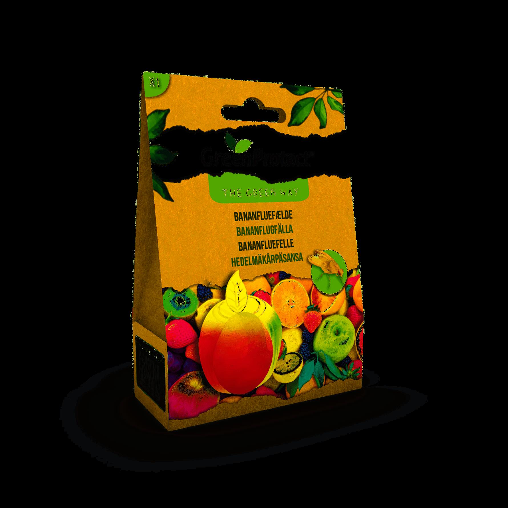A Green Way Bananfluefælde (1 stk) thumbnail