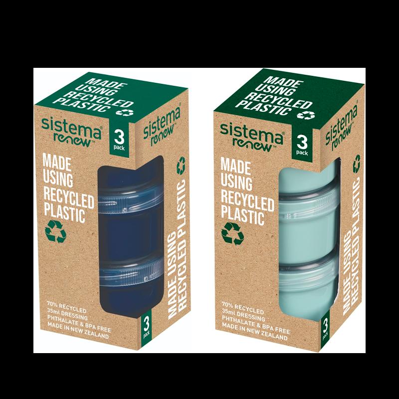Sistema Renew Dressing Pots Ass. Farver (3 x 35 ml)