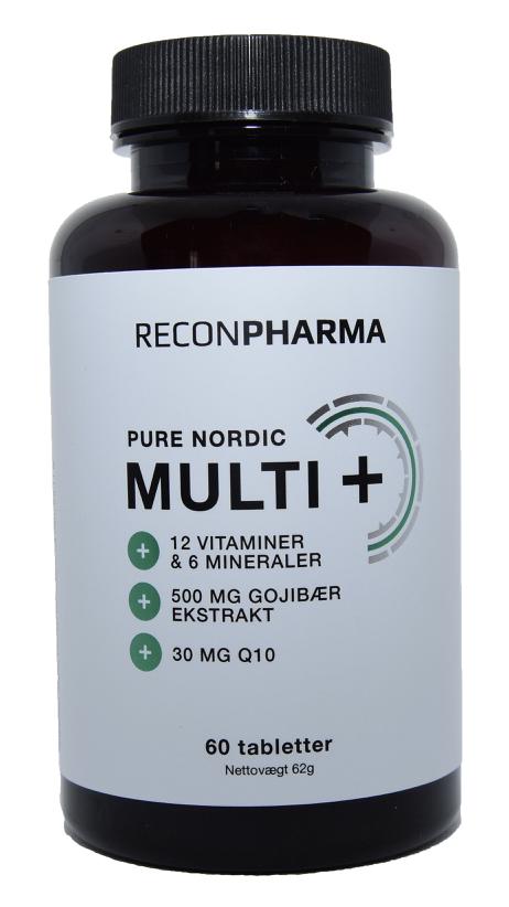 Image of ReconPharma Multivitamin & mineraltilskud (60 tab)