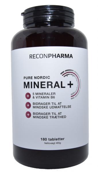 Image of ReconPharma Vitamin b6 & Mineraltilskud (180 tabletter)