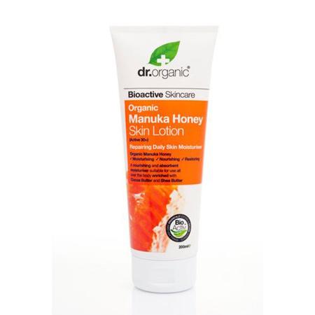 Image of Dr. Organic Honey Manuka Skin lotion (200 ml)