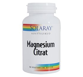 Solaray magnesium fra Helsebixen