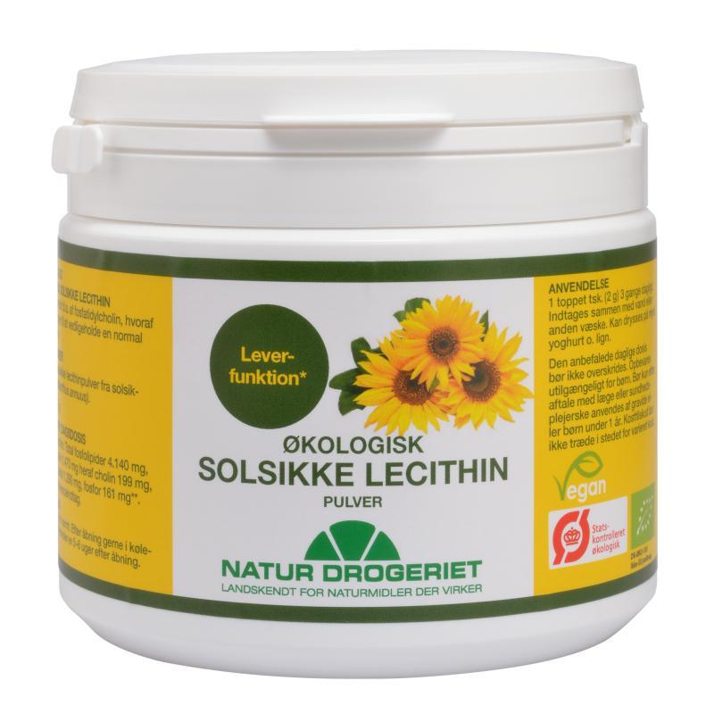 Natur Drogeriet Solsikke Lecithin pulver Ø (150 g)