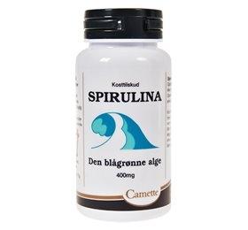 Camette Spirulina Den Blågrønne Alge