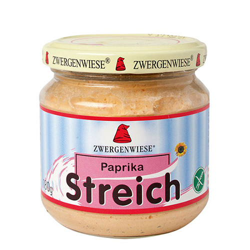 Zwergenwiese Smørepålæg Paprika