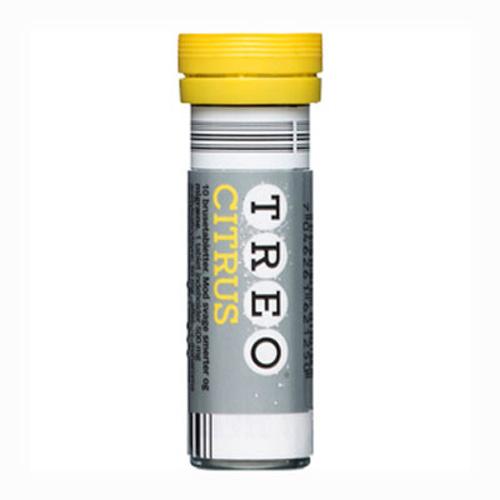 Tilbud på Treo Citrus Brusetabletter 500+50 mg (10 stk)
