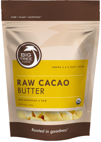 Big Tree Farms kakaosmør fra Helsebixen