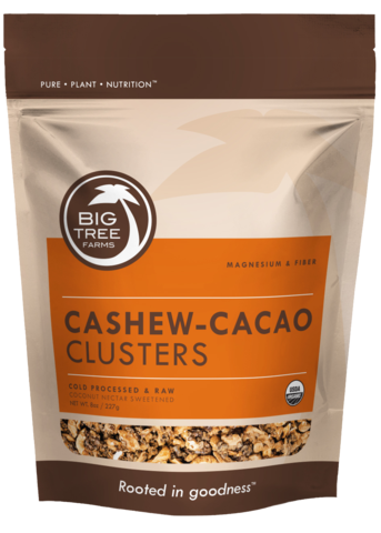 Image of Big Tree Farms Cashew Kakao Cluster Ø (100 g)