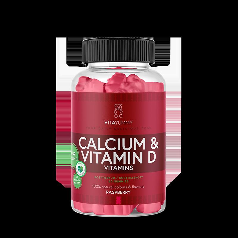 VitaYummy Calcium + D Vitamin Gummies (60 stk)