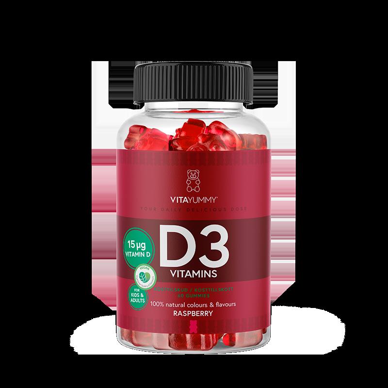 VitaYummy D3 Vitamin Gummies (60 stk)