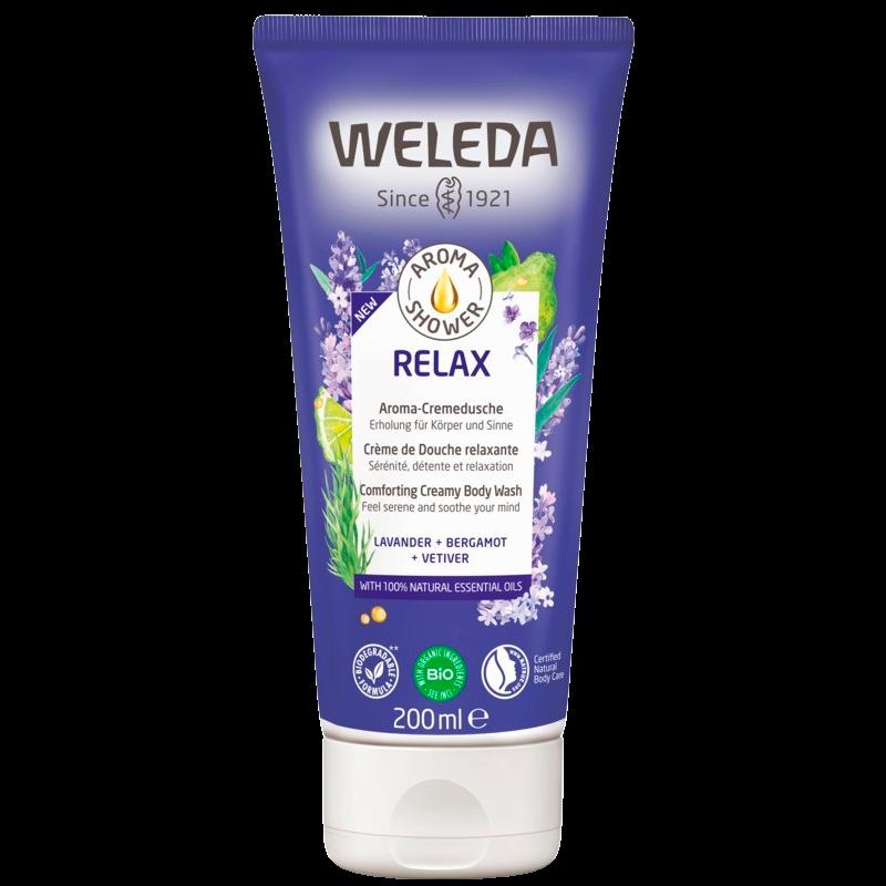 Weleda Aroma Shower Relax Creamy Body Wash (200 ml)